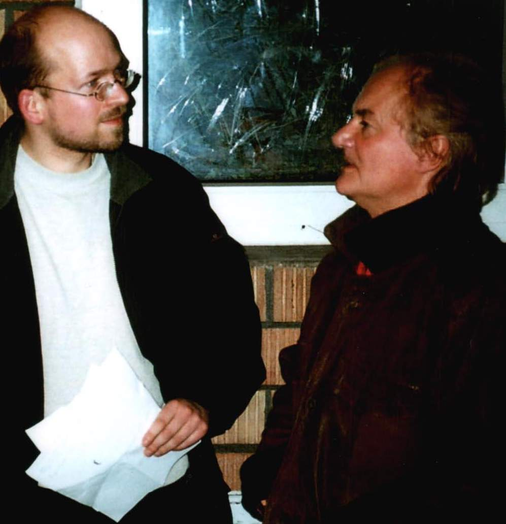 Jim Rodford with Thomas Bartoldus